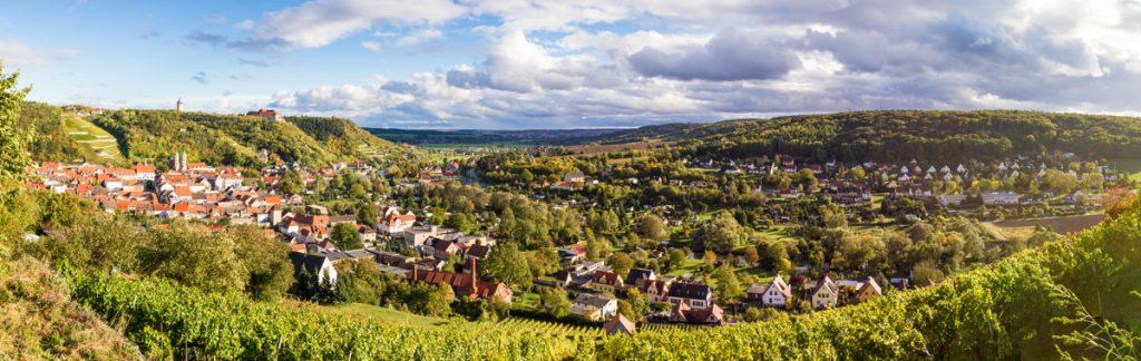Blick über Freuburg (Unstrut)