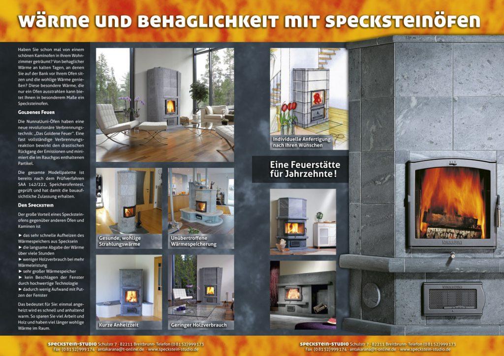 Folder Specksteinöfen
