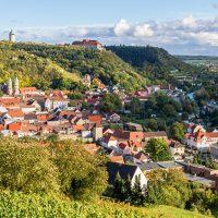Blick über Freyburg/Unstrut