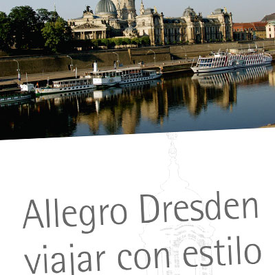 Imageprospekt von Allegro Reisen in spanischer Sprache