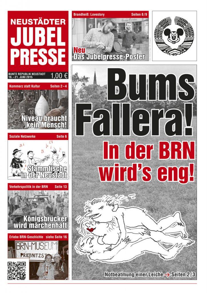 Satirezeitung zur Bunten Republik Neustadt