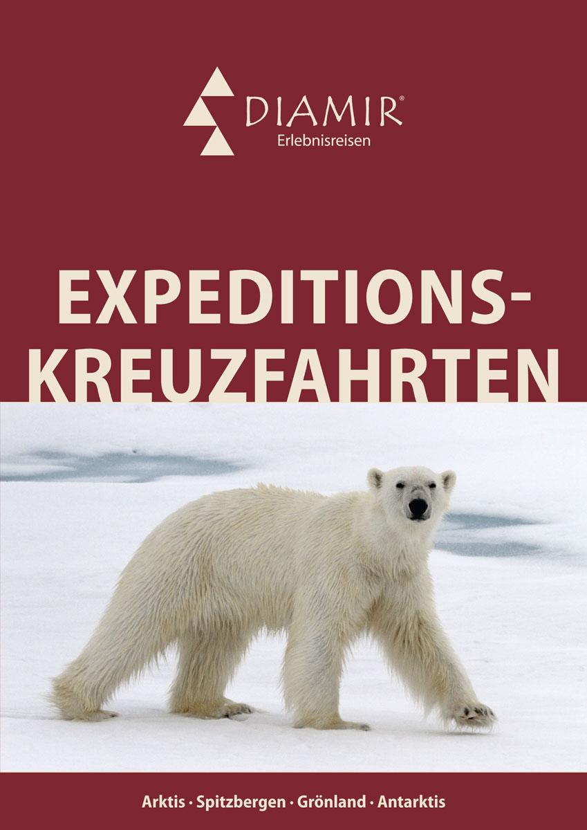 DIAMIR-Katalog Expeditionskreuzfahrten
