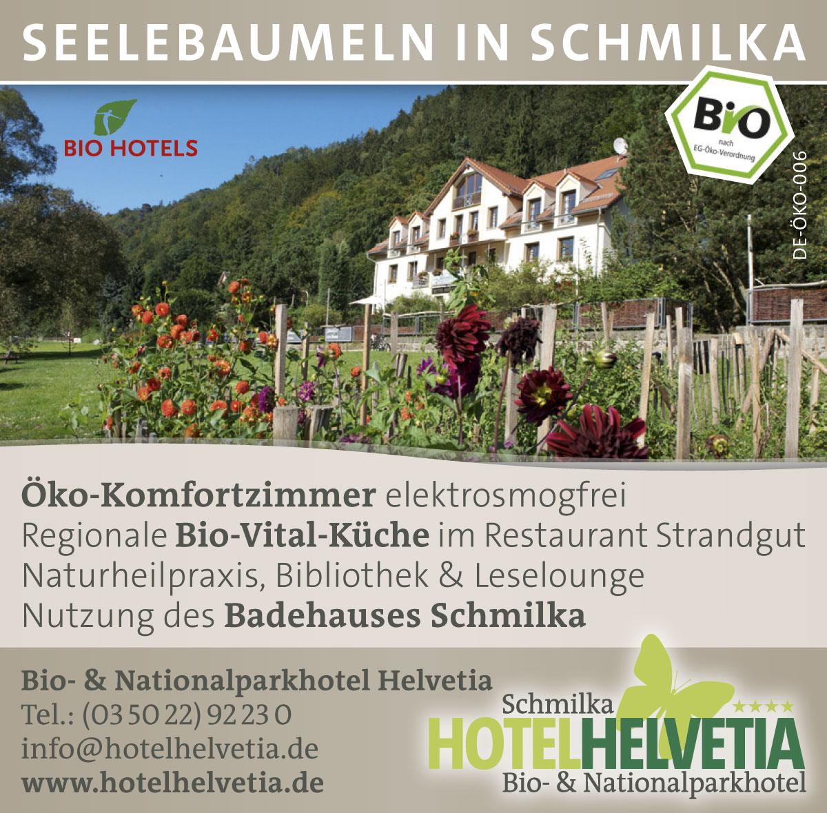 Anzeige Hotel Helvetia