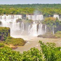 Die Wasserfälle des Iguazu