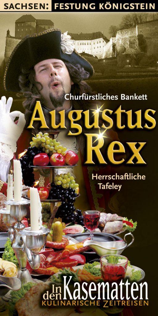 Kasematten Flyer Augustus Rex