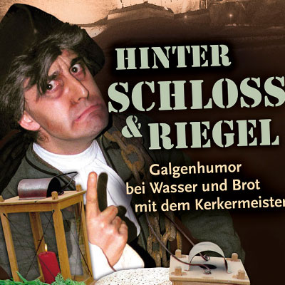 Kasematten Flyer Hinter Schloss und Riegel