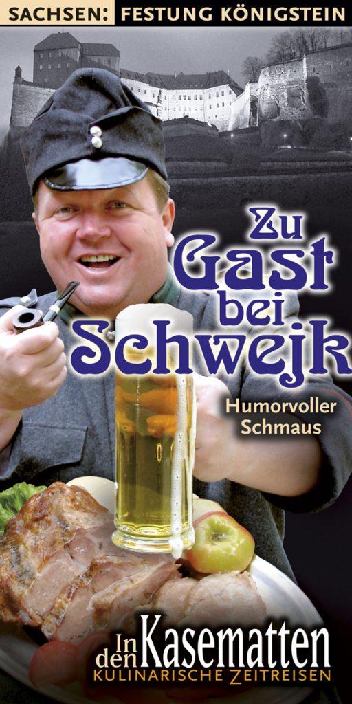 Kasematten Flyer Zu Gast bei Schwejk