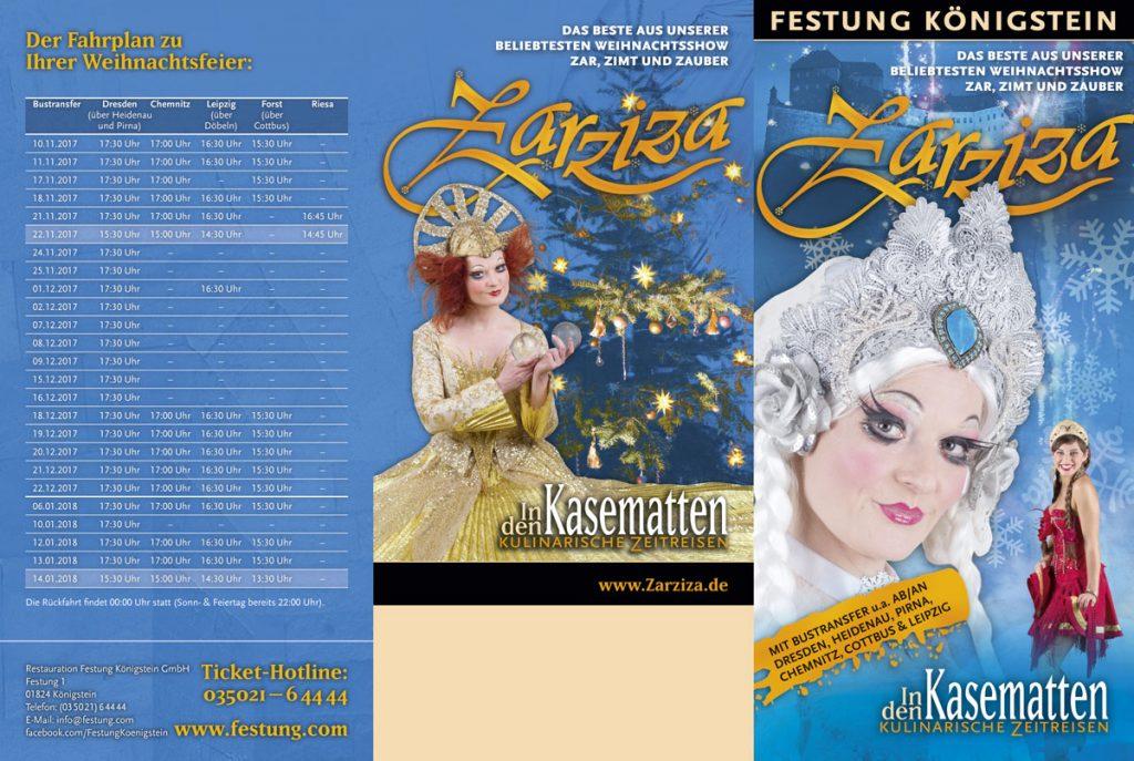 Kasematten Flyer Weihnachten Zarziza