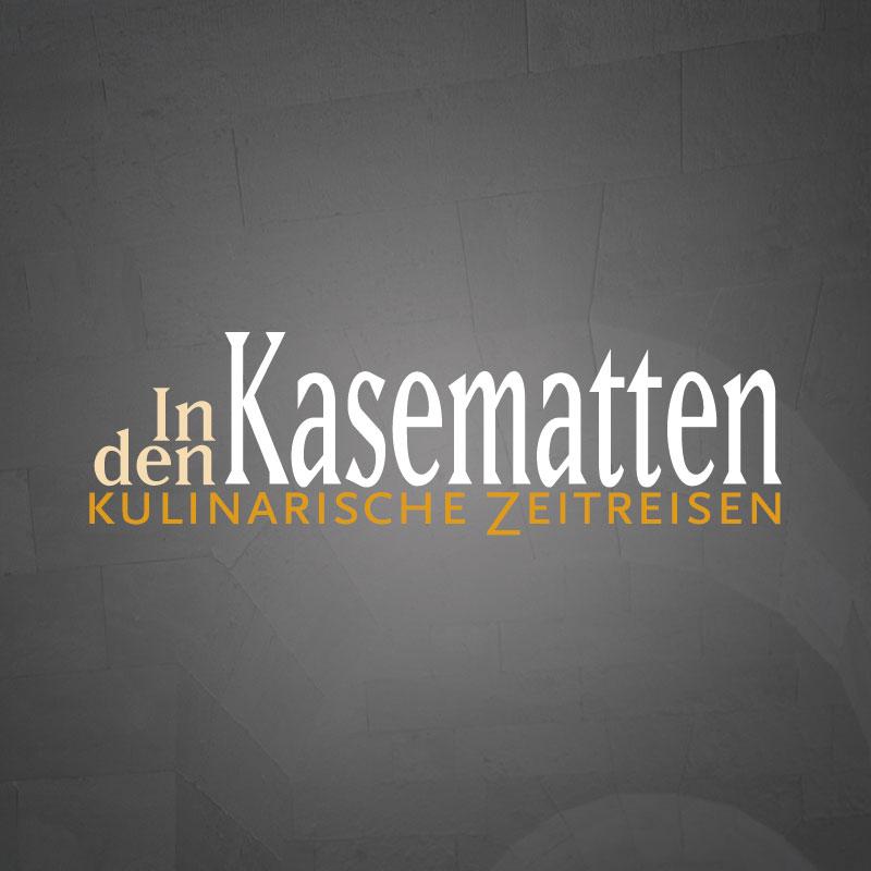 Logo Restauration Festung Königstein - In den Kasematten