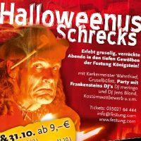 Kasematten Halloweenplakat