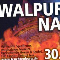 Leuchtenburg Anzeige Walpurgisnacht