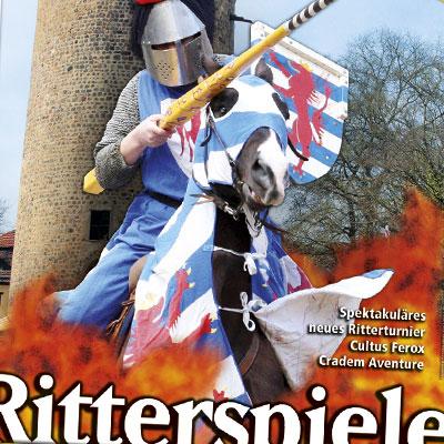 Neuland Plakat Ostern Ritterspiele Rabenstein
