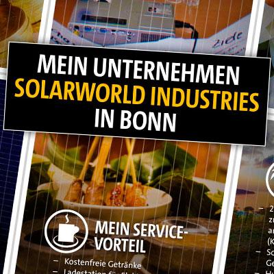 Flyer Arbeitattraktivität von SolarWorld