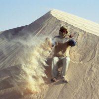 Kameltrekking in der Sahara, Tunesien