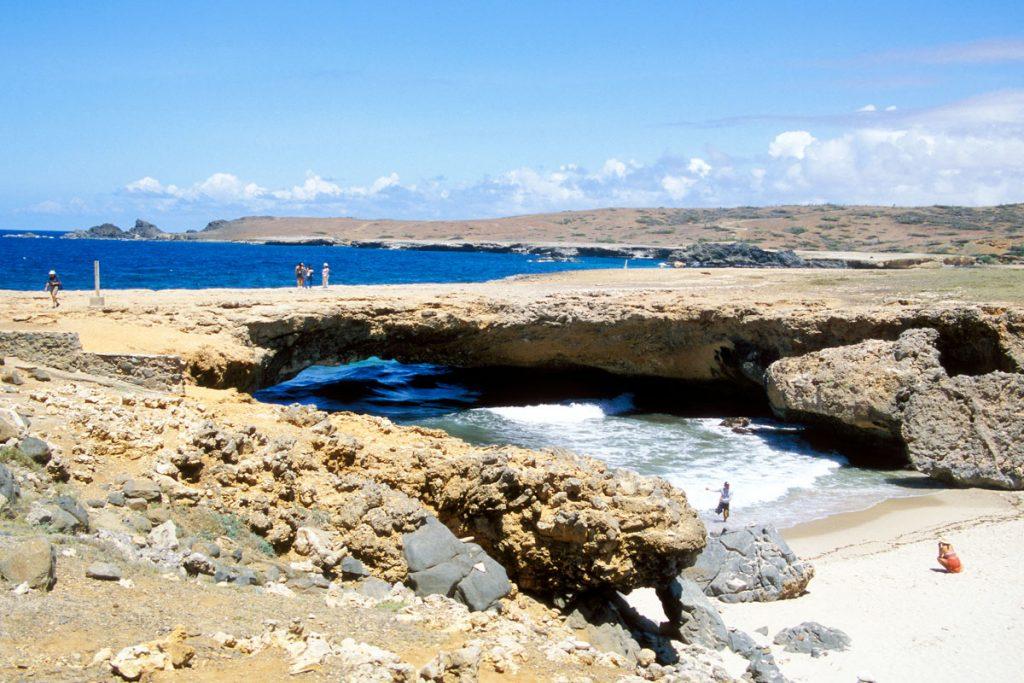 Natural Bridge, Aruba (2005 zusammengestürzt)