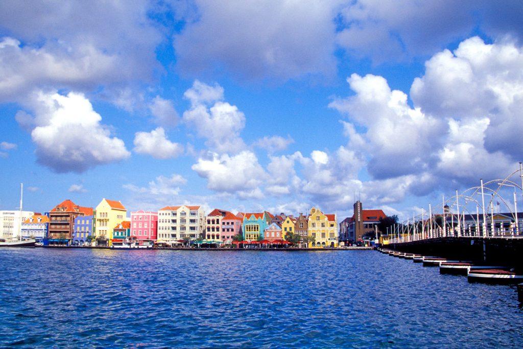 Hafenpromenade von Willemstad, Curacao