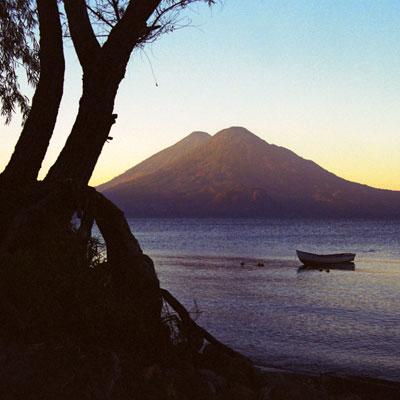 Lake de Atitlán, Guatemala