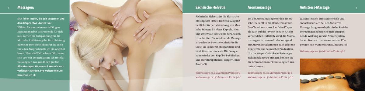 Hotel Helvetia Prospekt Gesundheitsangebote