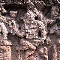 Maya Tempel In Copan, Honduras
