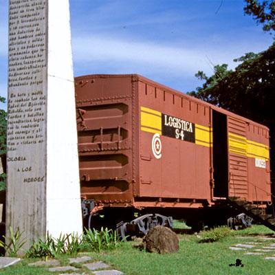 Panzerzug in Santa Clara