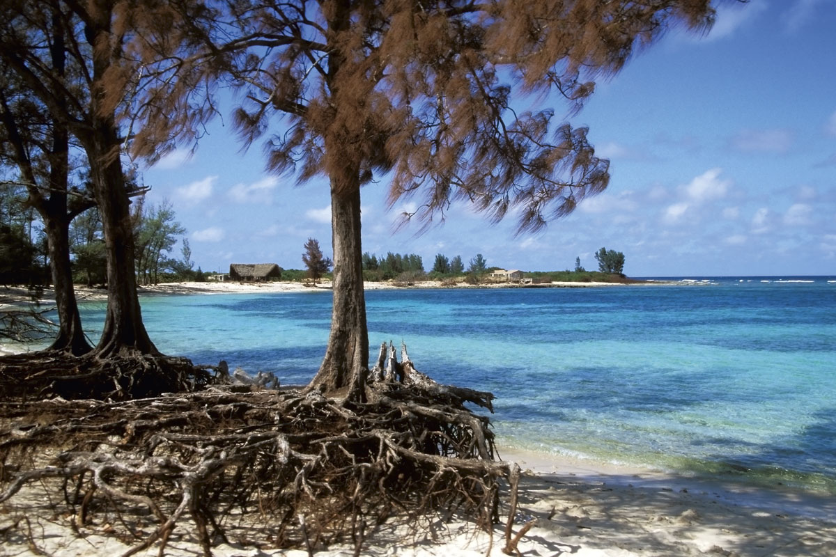 Einsamer Strand La Boca auf Cuba