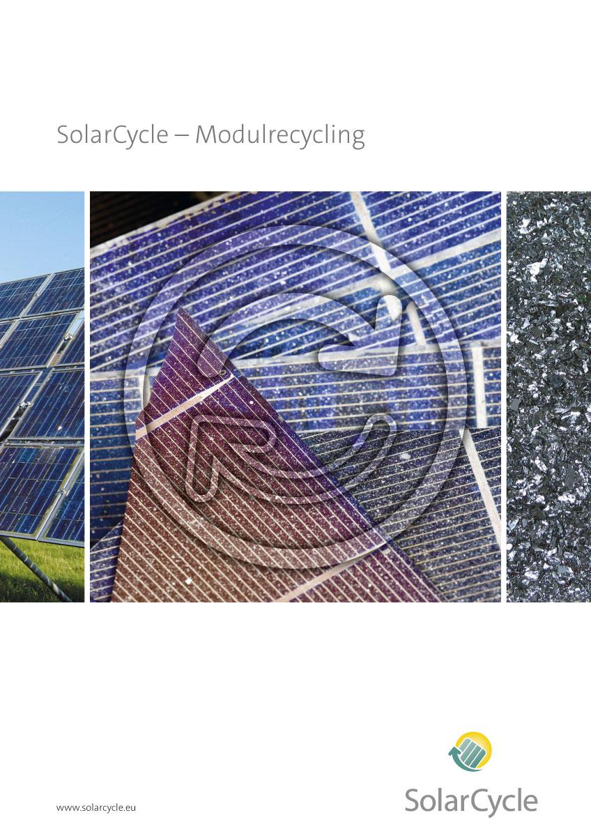 Gestaltung einer Broschüre für SolarCycle