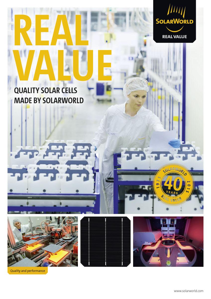 SolarWorld Prospekt Intersolar