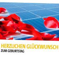 SolarWorld Glückwunschkarten