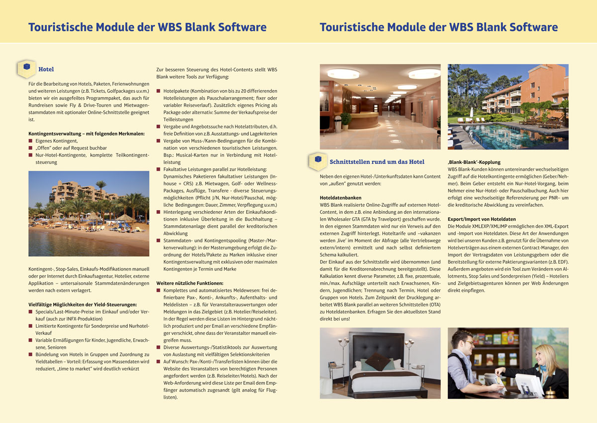 WBS Blank Software Imageprospekt