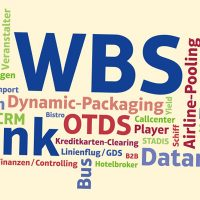 WBS Blank Software Messetafel ITB