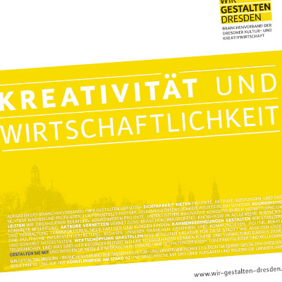 Anzeige Wir gestalten Dresden