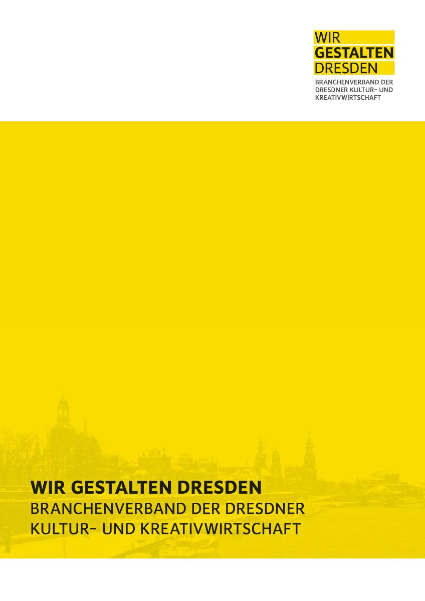 Prospekt Wir gestalten Dresden