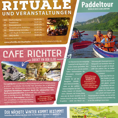 Advertorial für Tagestouristen in Schmilka