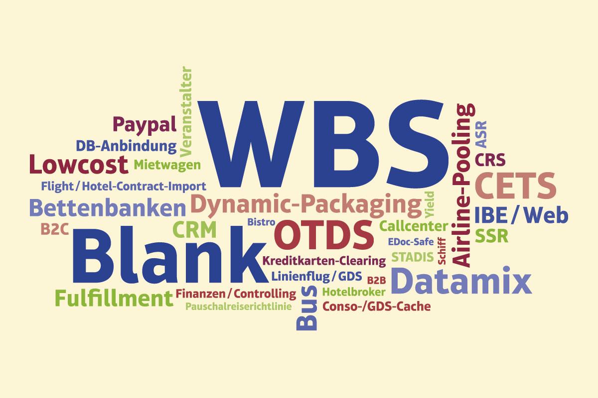 Messetafel Wordcloud WBS Blank