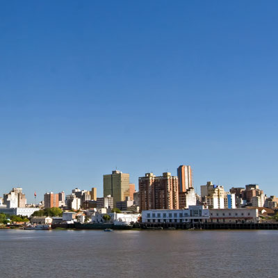 Skyline von Asuncion, Paraguay