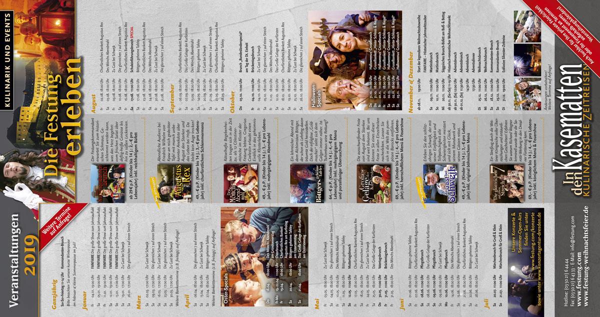 Veranstaltungskalender In den Kasematten