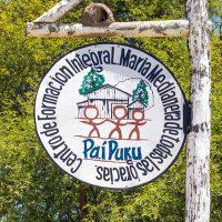 Schule Pai Puku an der Transchaco