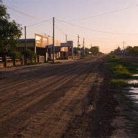 Der Mennonitenort Filadelfia im Chaco von Paraguay