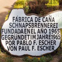Zu Gast in der Schnapsbrennerei Escher in Paraguay