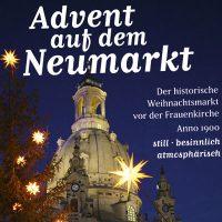 Imageanzeige für den Weihnachtsmarkt auf dem Neumarkt Dresden