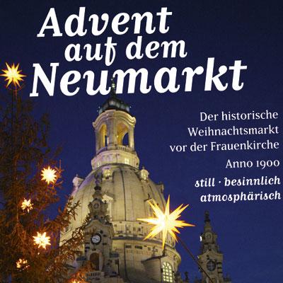 Anzeige für Weihnachten in Dresden