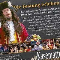 Kasematten Anzeige Gästeinfo Königstein