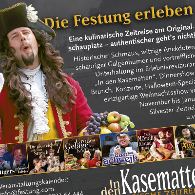 Produktanzeige für Gastro auf dem Königstein