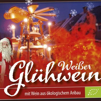Etikett Glühwein Festung Königstein