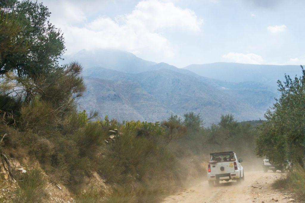 Jeep-Safari auf die Lasithi-Hochebene