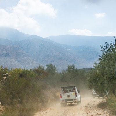 Jeep-Safari im Dikti-Gebirge auf Kreta