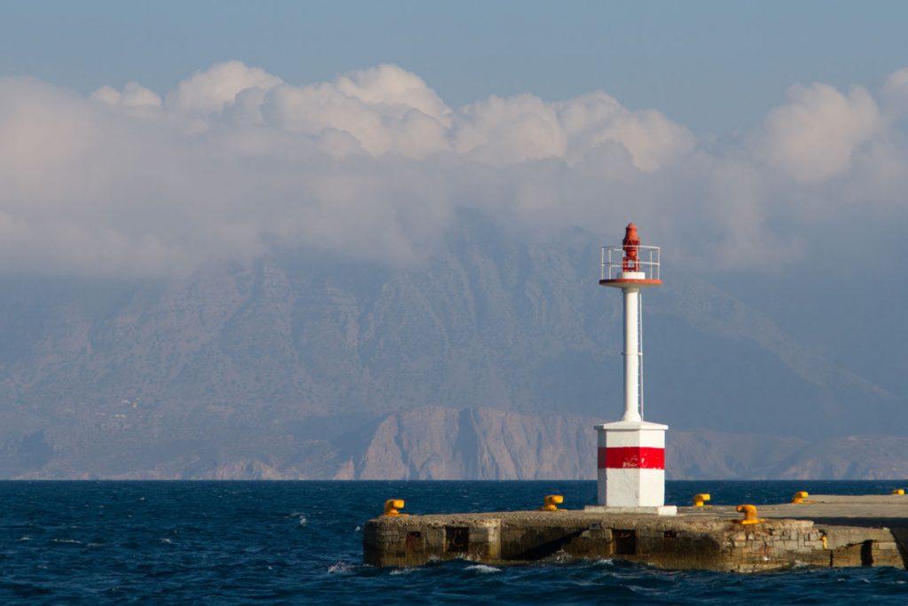 Der Hafen von Agios Nikolaos. Kreta