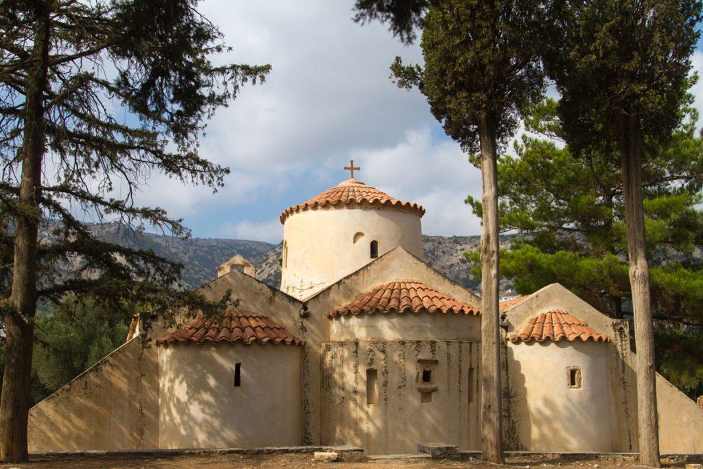 Die Kirche Panagia i Kera bei Agios Nikolaos, Kreta