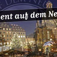 Banner Weihnachtsmarkt auf dem Neumarkt