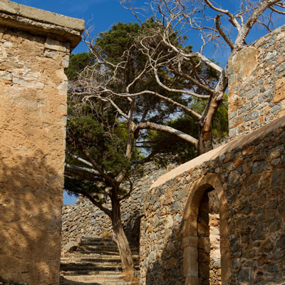 Die Lepra-Insel Spinalonga vor Kreta